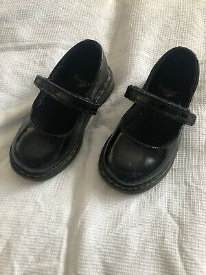Girls Infant Dr Martin Patent Shoes Size 7