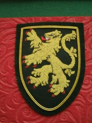 Medieval Coat Of Arms Of England Patch