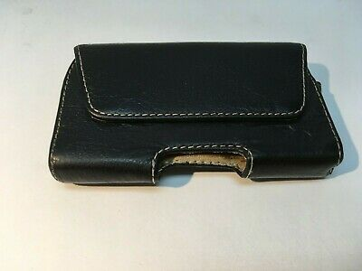 Leather Horizontal Belt Case Pouch for Apple iPhone 4 4S, with Belt Clip