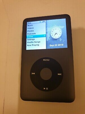Apple ipod classic 7th generation black 160 GB