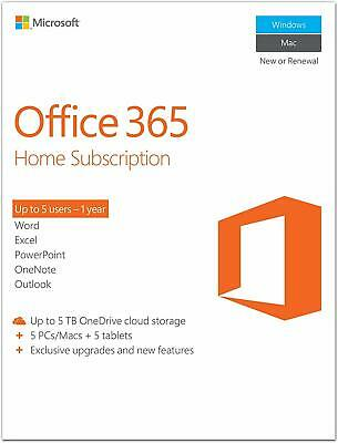 Office 365/2016-2019/ ProPlus 32/64 bit| 5 Devices | Multilanguage | Instant