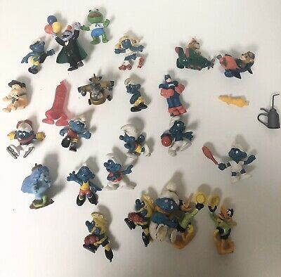 Miscellaneous Lot Of Smurfs