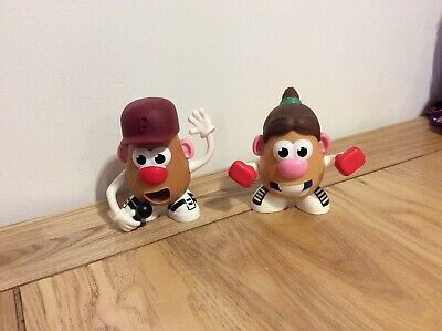 Pair Of Toy Story Mr & Mrs Potato Heads Singing & Boxing