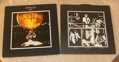 Jethro Tull Live Double LP - Bursting Out.   CJT4.