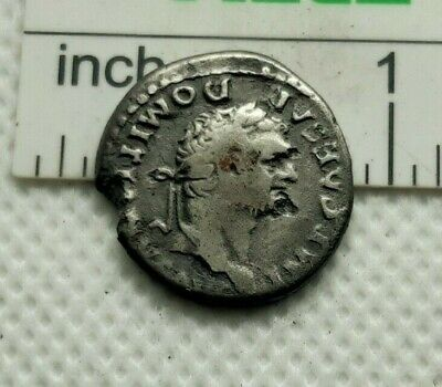 Authentic 100% Ancient ROMAN  SILVER COIN denarius  Domitian (AD 81-96)  #340