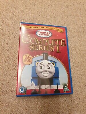 Thomas The Tank Engine And & Friends Complete First Series 1 Restored Dvd 2012