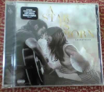 A STAR IS BORN Original Soundtrack-Lady Gaga &Bradley Cooper Brand New CD sealed