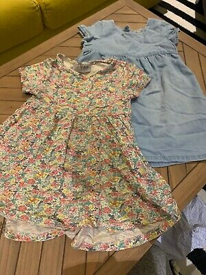 X2 Girls Next Summer Dresses 2-3 Years Old