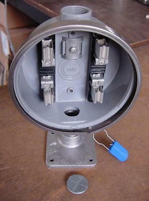 240v Electric Watthour METER SOCKET Base Can Mount Box RV House Apartment NEW!