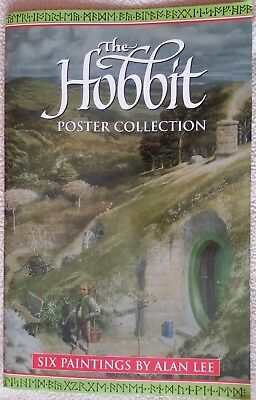 The Hobbit Poster Collection: Six Paintings Alan Lee Tolkien & Realms of Tolkien