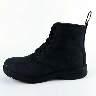 Blundstone Classic Lace Up Desert Boots UK 8 US Mens Size 9 Rustic Black Leather