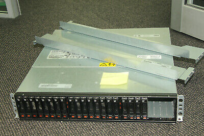 IBM DS3524 dual controller 20 x 600Gb SAS array 2 controllers and rail kit