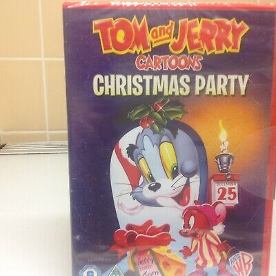 Tom & Gerry Cartoons Christmas Party (Dvd2010) New & Sealed