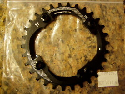 Wolf Tooth Components Drop Stop 32T Chainring-4x104 BCD-Red-New