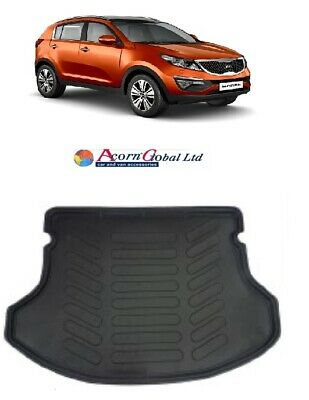 KIA SPORTAGE 2010- 2015 Tailored rubber boot mat BOOT LINER DOG TRAY