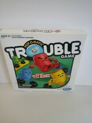 Trouble Board Game by Hasbro Kids Family ORIGINAL NEW SEALED