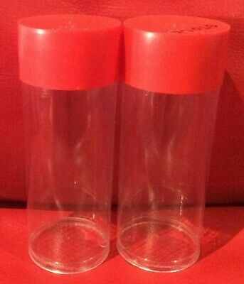 2x Tubes for 1oz Silver Capsulated Coins & Rounds