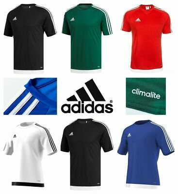 Adidas T Shirt Mens Entrada 18 Climalite Short Sleeve Top Football Size S M L XL