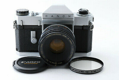 [Exc] Canonflex RP 35mm SLR Film Camera w/ Super Canomatic 50mm f/1.8 from Japan
