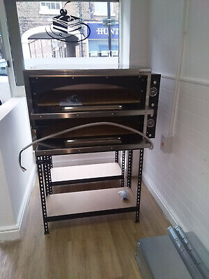Italian Double Deck Electric Pizza Oven Single Phase Commercial + free items
