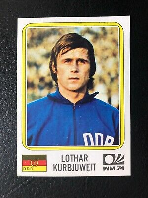 Panini MUNCHEN 74 N 129 DEUTSCHLAND DDR LOWE WITH BACK VERY GOOD CONDITION