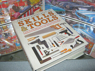 Skills & Tools Step By Step Encyclopedia Hardware-Materials Book  (Like New)