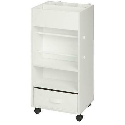 Honey-Can-Do Storage Cart with Fabric Drawer W