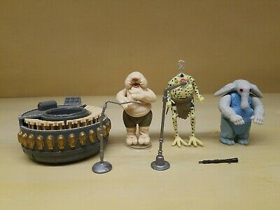 1983 Kenner Star Wars Max Rebo Band 100% Complete NO REPRO Excellent Condition