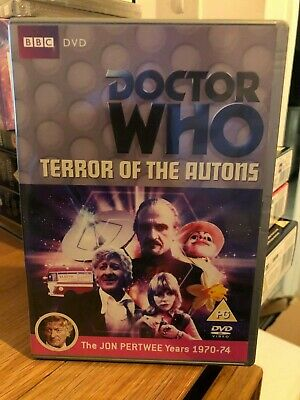Doctor Who DVD - TERROR OF THE AUTONS