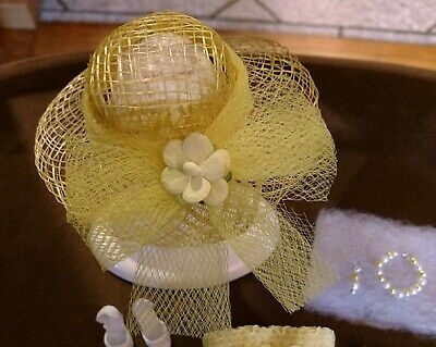 VINTAGE BARBIE FASHION HATS TO MATCH MANY VINTAGE BARBIE CLOTHES   NEW DESIGN!