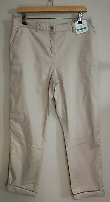 Joules Hesford Chinos, Size 14, Ivory, BNWT