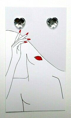 100 Boutique Cards Earring Display Earring Holders Hat Lady Basket Earring Cards