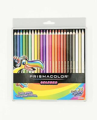 Colored Pencil Set High-quality Pack of 24 Soft Smooth Leads Hardened Cores