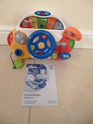 Chicco Talking Driver - Bilingual toy - teaches your child in English and French