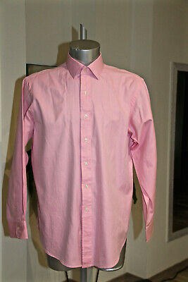 Pretty Shirt Pink Polo by Ralph Lauren Regent Classic Fit Size 17 34/35 (XL)