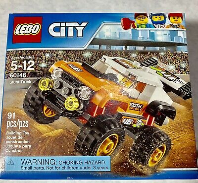 LEGO City STUNT TRUCK 60146 91 pieces