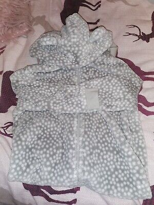 Girls bear All In One Dressing Gown Age 3 From Next