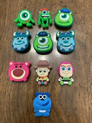 Monsters Inc., Toy Story 10 pcs Shoe Charms Bracelet Charms
