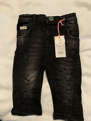Baby Boys River Island Jeans 3-6 Months