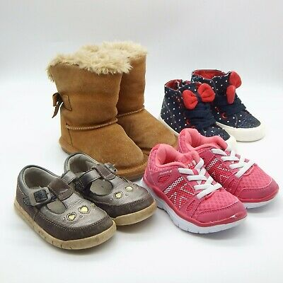 Clarks Next Karrimore Girls Shoe Boot Trainer Bundle Infant Size 5