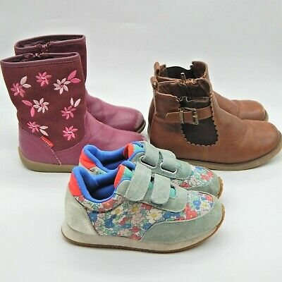 Mini Boden Toe Zone Girls Shoe Bundle Infant Size 9