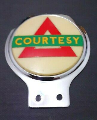Stunningly Designed Coutesy Car Badge Grille Badge Car Mascot