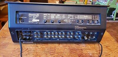 NAKAMICHI 610 CONTROL PREAMPLIFIER PRE AMP Works Great! one meter bulb toast.