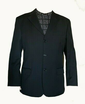 YVES SAINT LAURENT MEN'S BLAZER JACKET Black SIZE 44/54