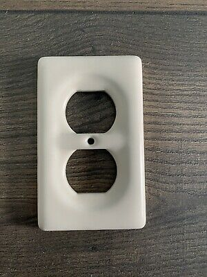 Biscuit Ceramic Porcelain Electrical Switch Plate