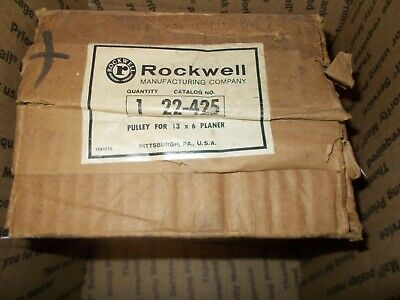 Rockwell Pulley for 13x16 Planar, Catalog No. 22-425