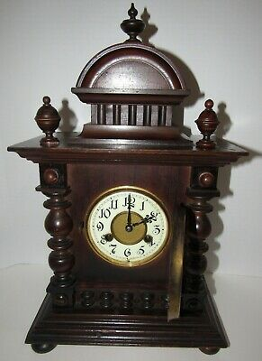 Antique Mauthe Bracket Clock 8-day, Time/Strike, Key-wind