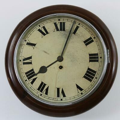 ART DECO DIAL CLOCK by ENFIELD, ENGLAND 8 day, pendulum, key, CHROME working