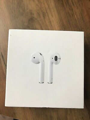 Apple AirPods 2nd Generation with Charging Case - White Model No.A2032 A2031