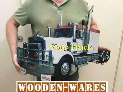 Your Truck turned into a Wall Display - ( without Matchbox Car Storage )